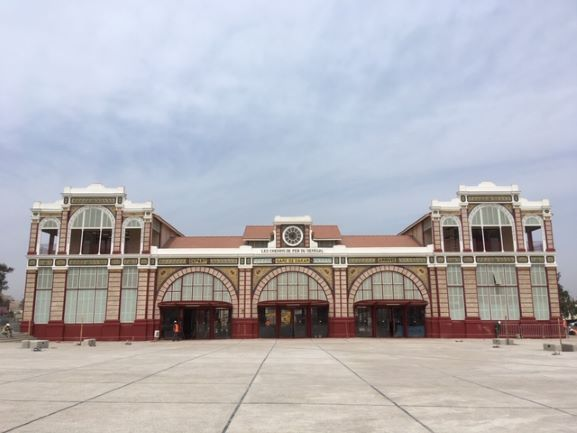 Dakar's spectacular railway station