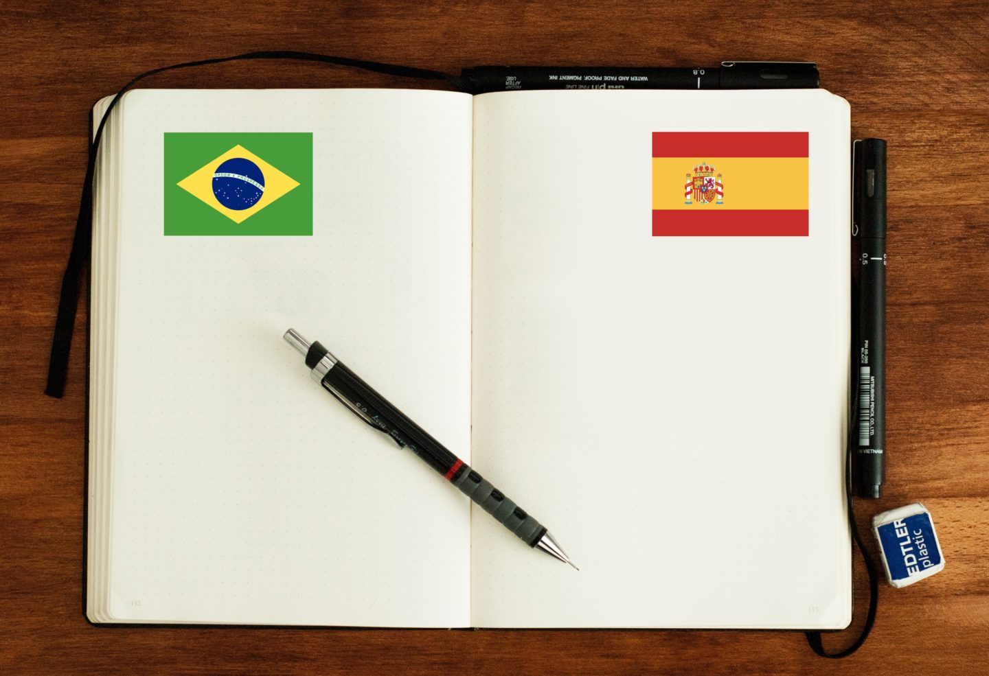 Language Vocabulary Hack: Spanish ↔ Brazilian Portuguese